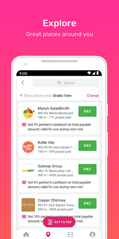 Fave - Deal, Pay, Cashback, Discount The App Store
