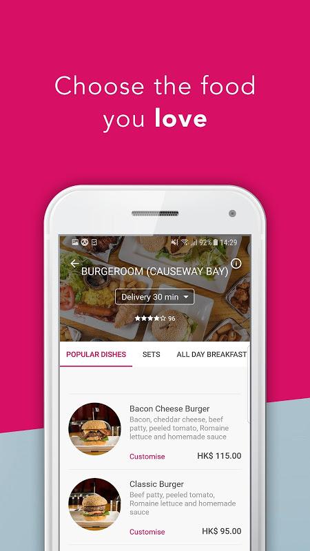 Screenshot foodpanda - Local Food Delivery APK