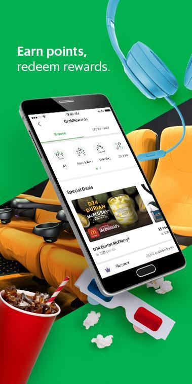 Screenshot Grab - Transport, Food Delivery, Payments APK