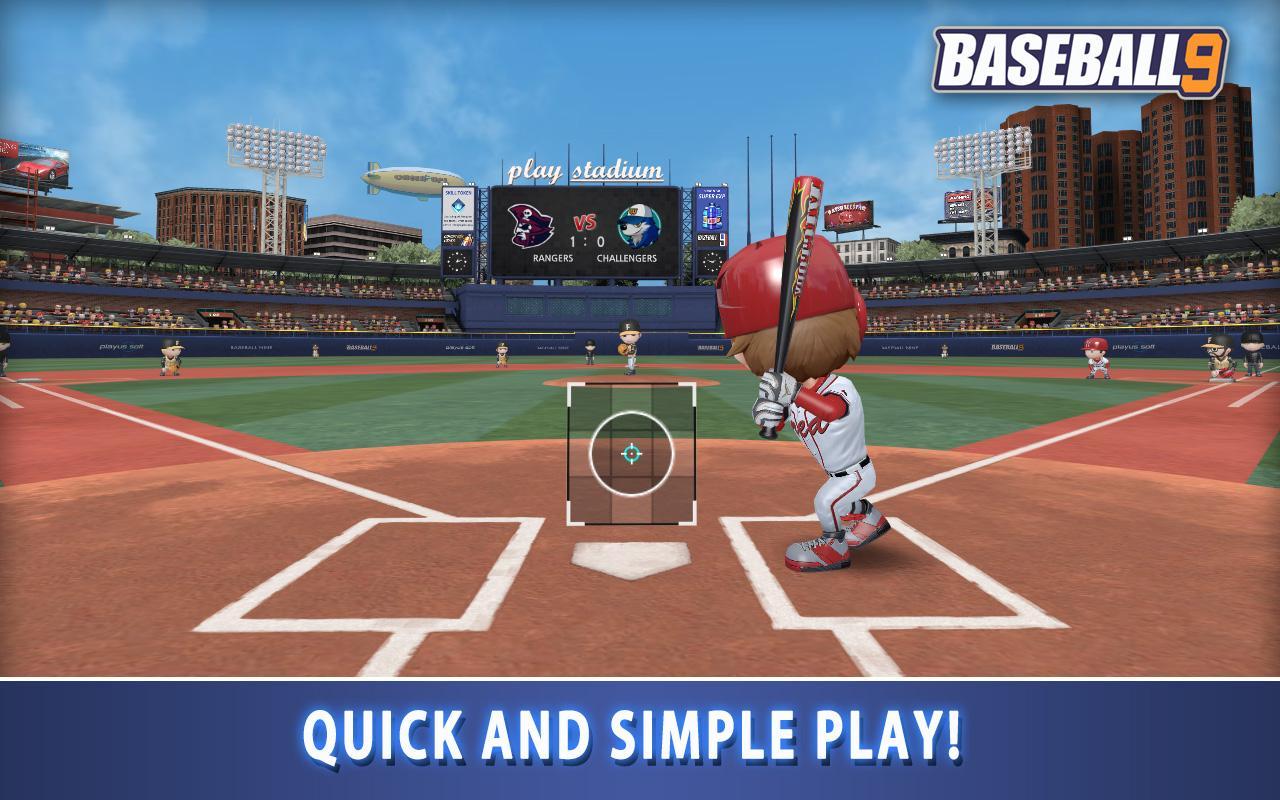 Screenshot BASEBALL 9 APK