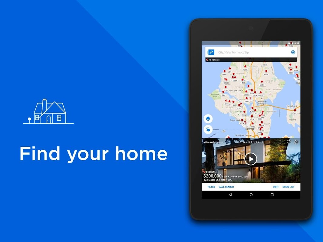 Screenshot Zillow: Find Houses for Sale & Apartments for Rent APK