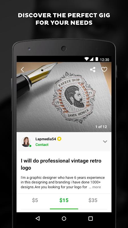 Screenshot Fiverr - Freelance Services APK