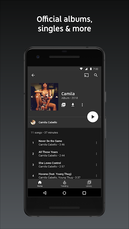 YouTube Music - stream music and play videos The App Store