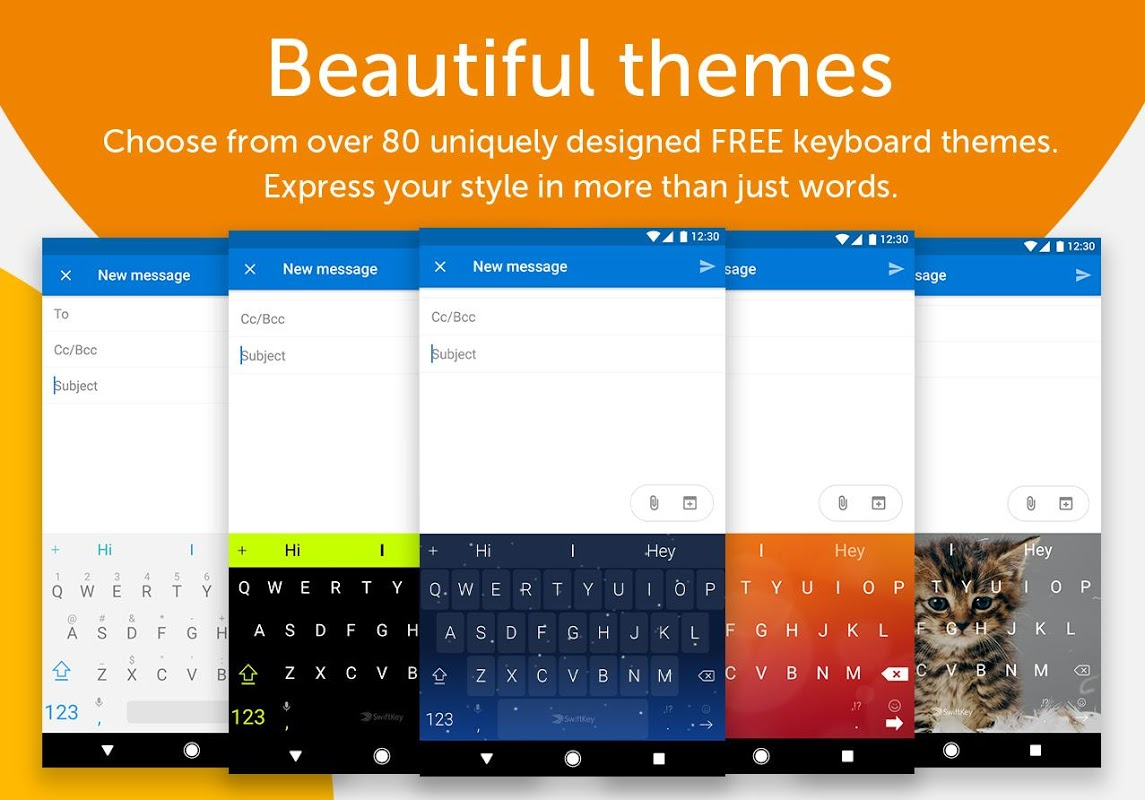 Screenshot SwiftKey Keyboard APK