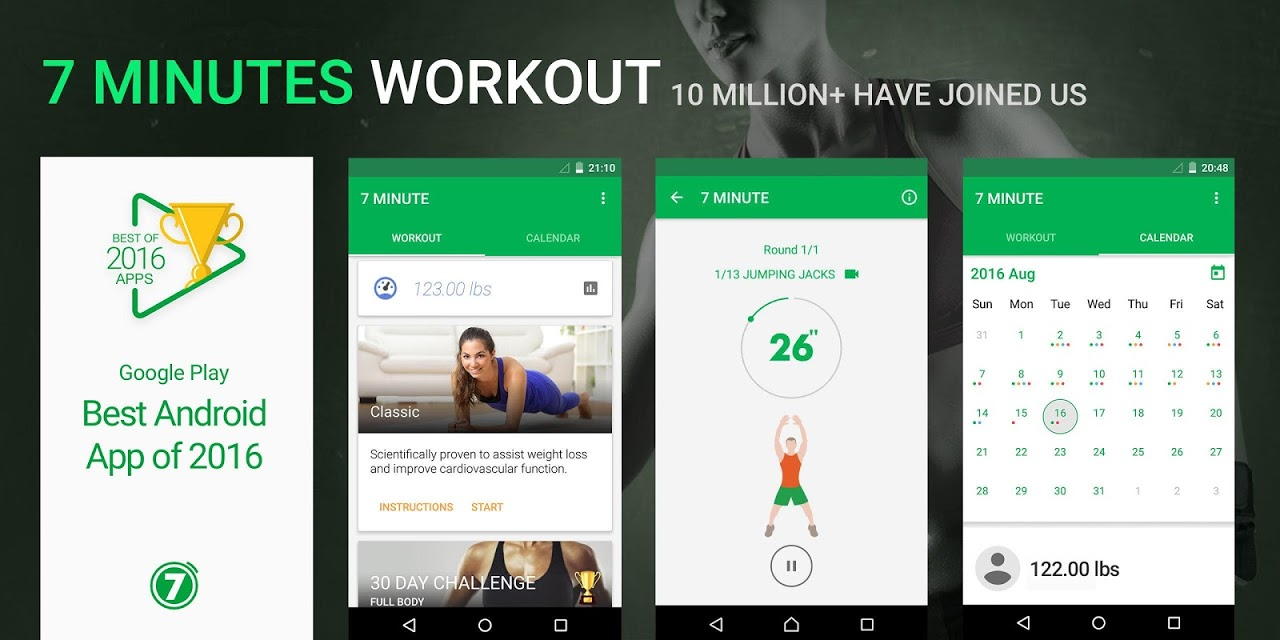 7 Minute Workout The App Store