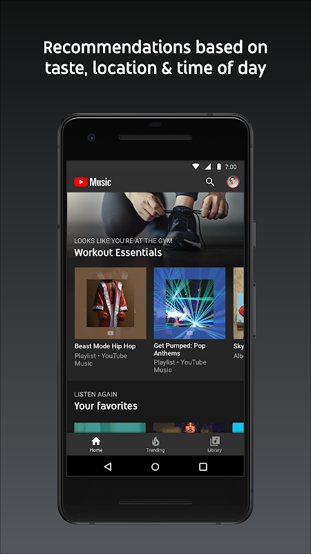 YouTube Music - stream music and play videos The App Store android Code Lads