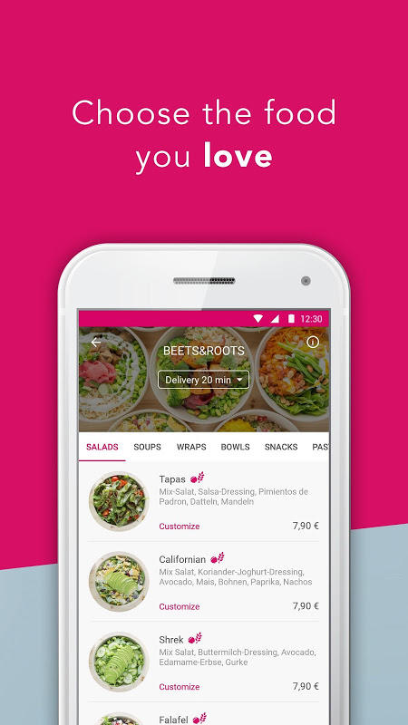 foodora - Local Food Delivery The App Store android Code Lads