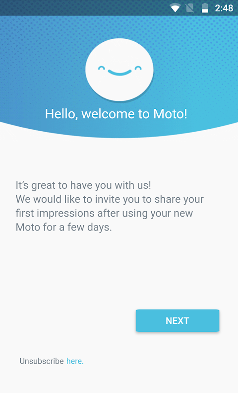 Motorola Notifications The App Store android Code Lads