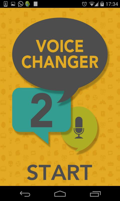 Screenshot ✪ Voice Changer 2 APK