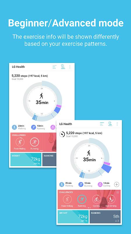 LG Health The App Store
