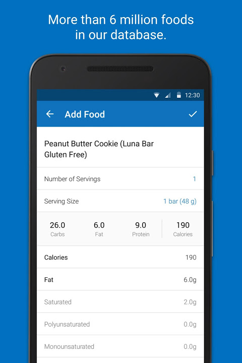 Screenshot Calorie Counter - MyFitnessPal APK