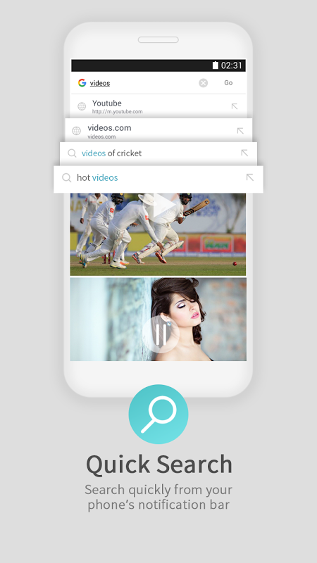 Screenshot UC Browser Mini for Android Go APK