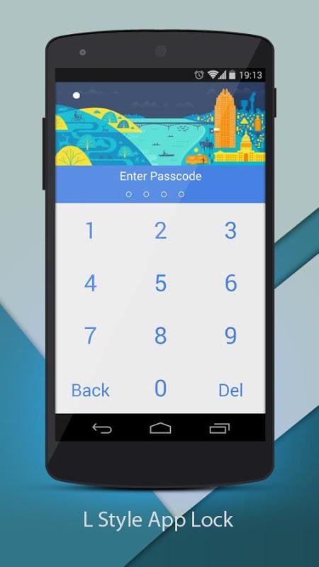 Screenshot L Applock For Android APK