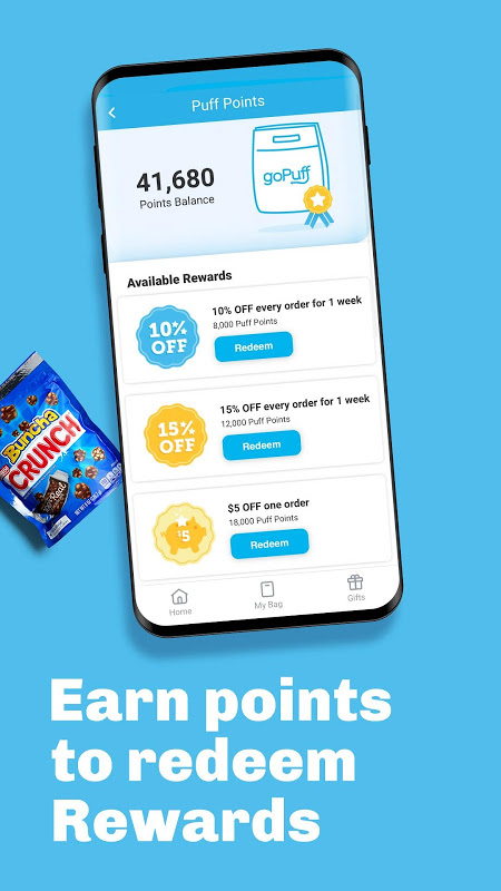 goPuff: Food & Drink Delivery The App Store