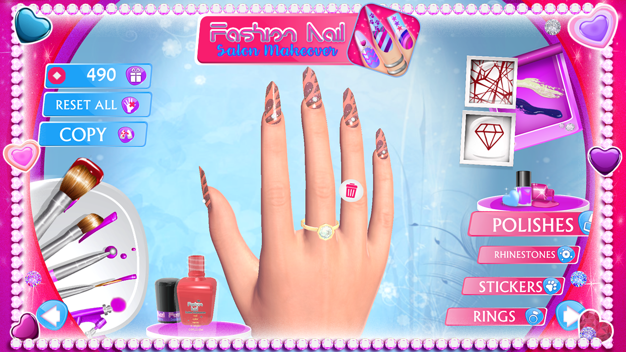 Fashion Nail Salon Makeover The App Store android Code Lads