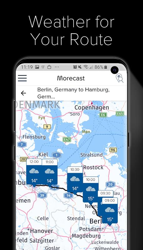Weather Forecast, Radar & Widget - Morecast The App Store android Code Lads