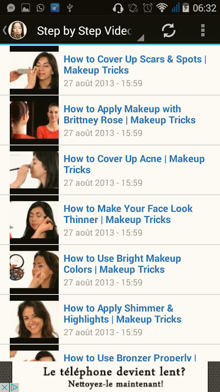 Make up Titorial The App Store