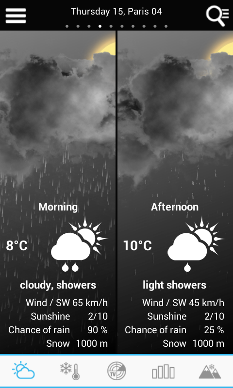 Weather for France and World The App Store android Code Lads