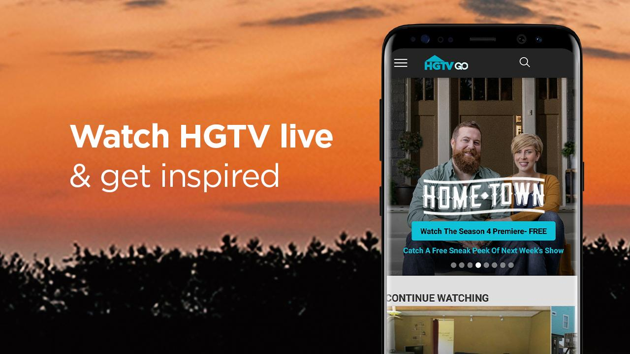 Stream Renovation & Home Improvement TV: HGTV Live The App Store