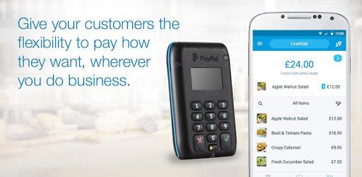 PayPal Here™ - POS, Credit Card Reader
