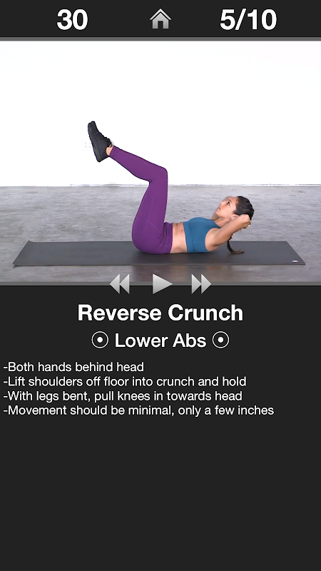 Daily Ab Workout - Core & Abs Fitness Exercises The App Store android Code Lads