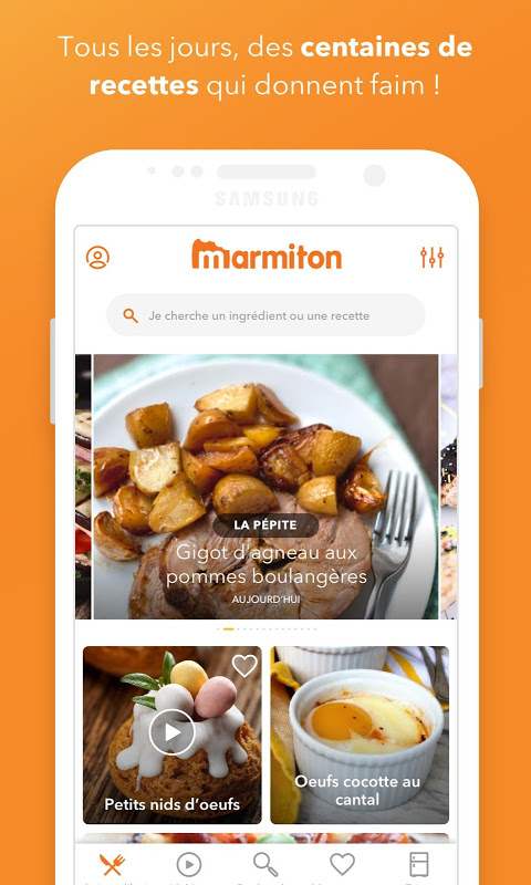 Marmiton : Recettes gourmandes The App Store
