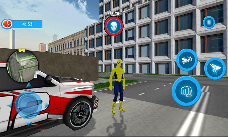 Flying Spider Hero City Rescuer Story The App Store android Code Lads