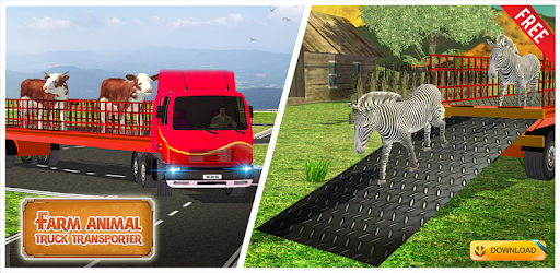 Farm Animal Transport Truck
