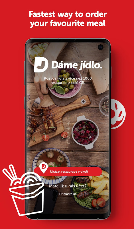 Dáme jídlo - Food Delivery The App Store android Code Lads