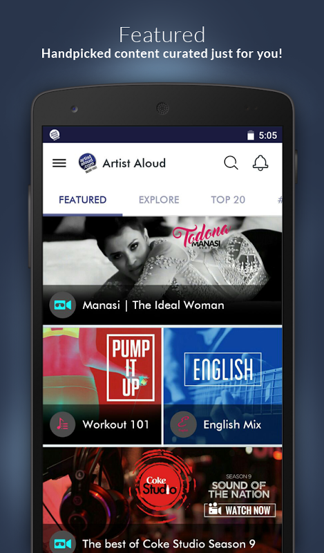 Artist Aloud – Talent First The App Store android Code Lads