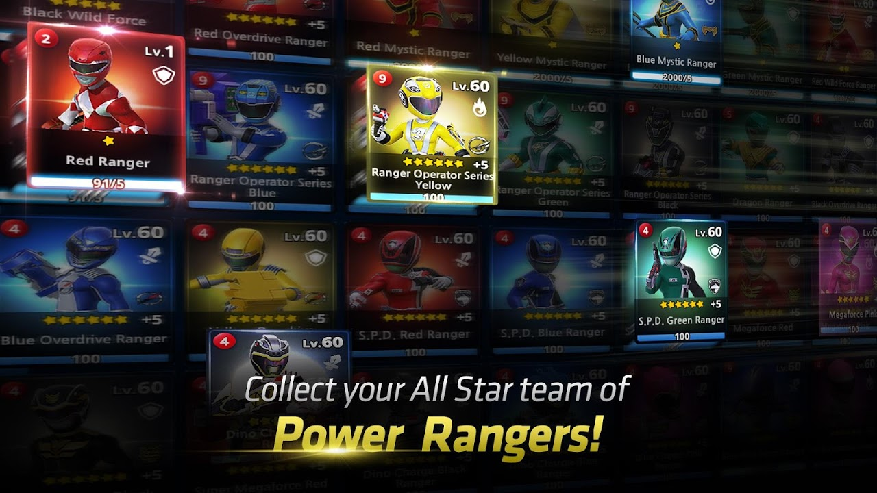 Power Rangers: All Stars The App Store android Code Lads