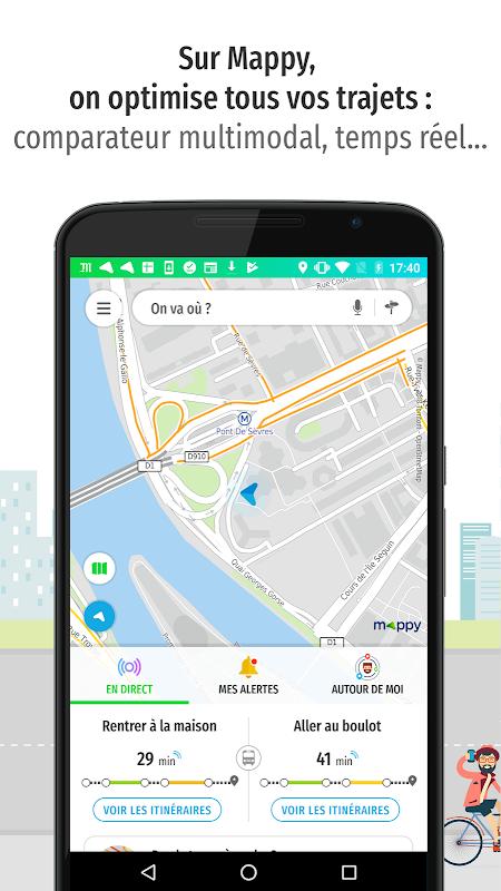 Mappy – Plan, Comparateur d'itinéraires, GPS The App Store