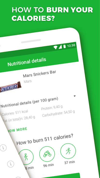 Calorie, Carb & Fat Counter The App Store