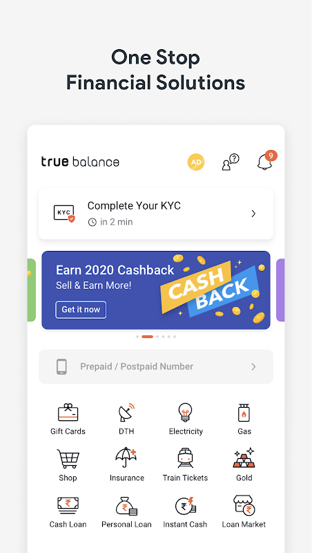 Earn Money by Recharge, Loan, Payment and Resell The App Store