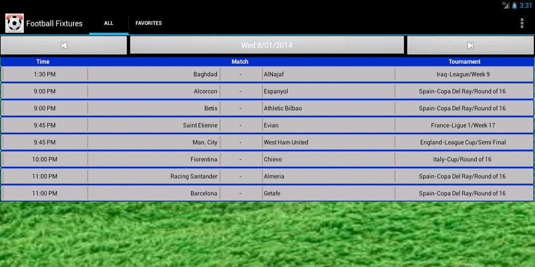 Football Fixtures The App Store android Code Lads
