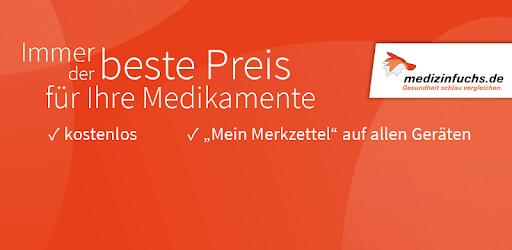 medizinfuchs App - Preisvergleich und Angebote