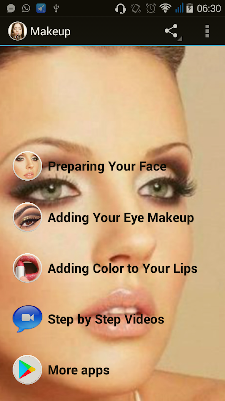 Make up Titorial The App Store android Code Lads