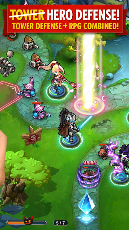 Magic Rush: Heroes The App Store android Code Lads