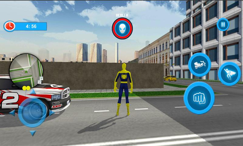 Flying Spider Hero City Rescuer Story The App Store