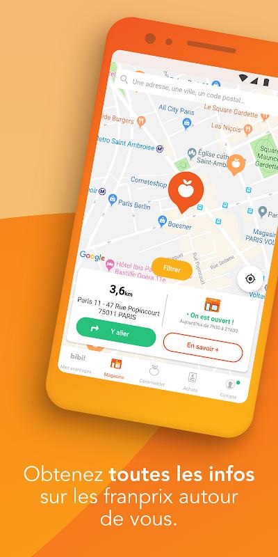 franprix : Livraison de courses et fidélité The App Store android Code Lads
