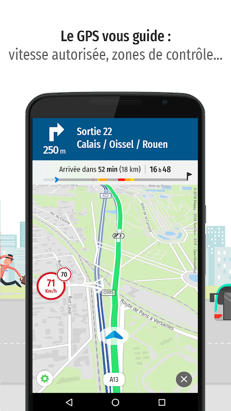 Mappy – Plan, Comparateur d'itinéraires, GPS The App Store android Code Lads