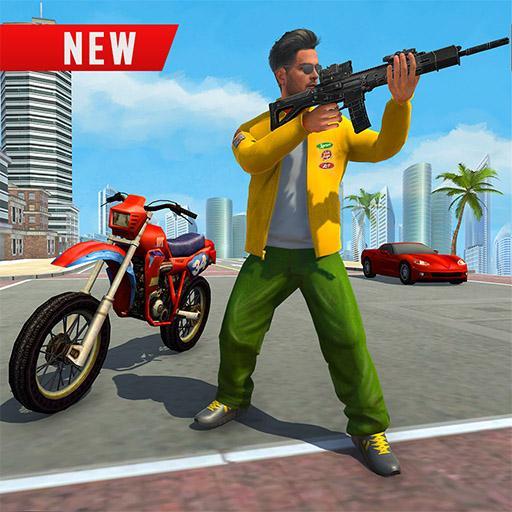 City Gangster Motor Bike Chase 2019