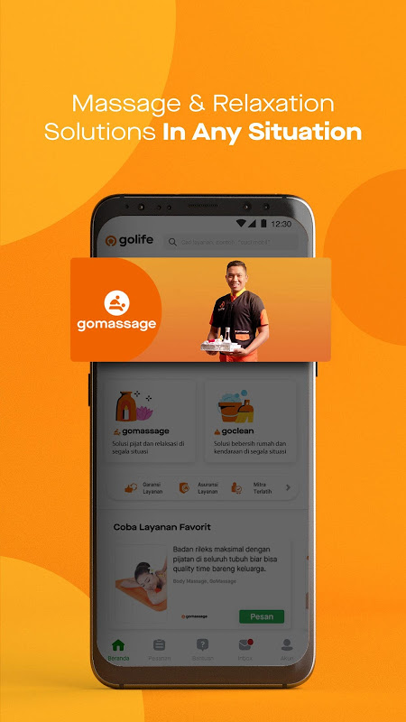 GoLife | One App for Every Service Need The App Store android Code Lads