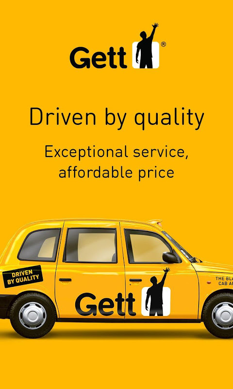 Gett - The Best Black Cabs The App Store android Code Lads