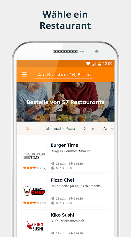 pizza.de | Food Delivery The App Store