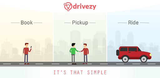 Drivezy - Car, Bike & Scooter Rentals