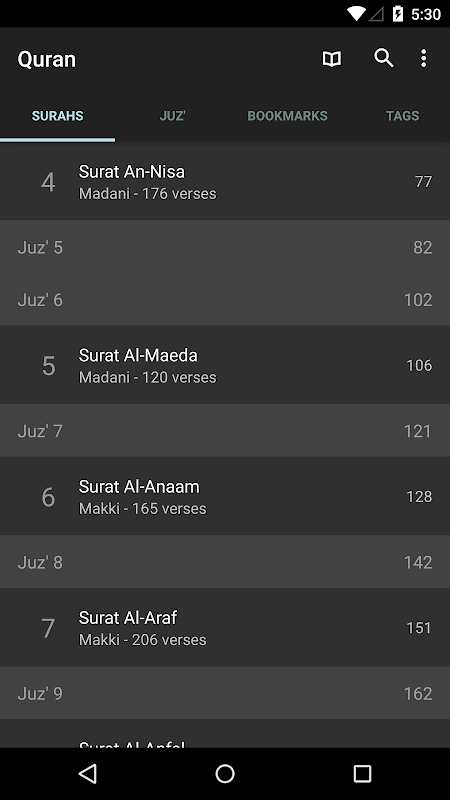 Quran for Android The App Store android Code Lads