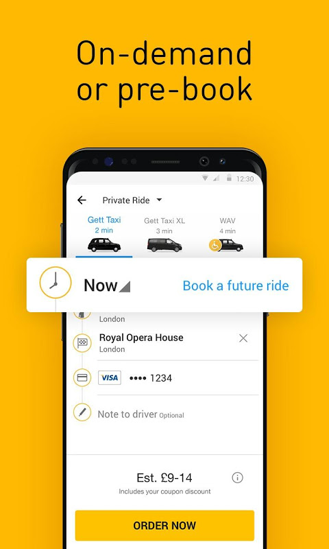 Gett - The Best Black Cabs The App Store