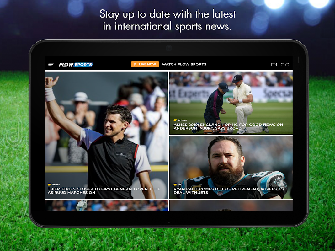 Flow Sports The App Store