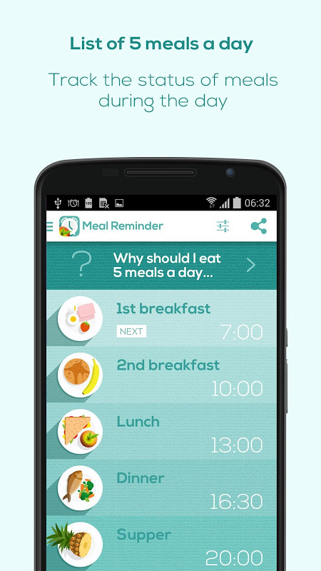 Meal Reminder - Weight Loss The App Store